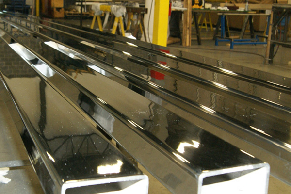 SS Polished Architectural Pipes