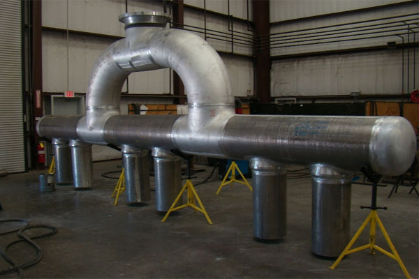 SS Fabricated Pipe