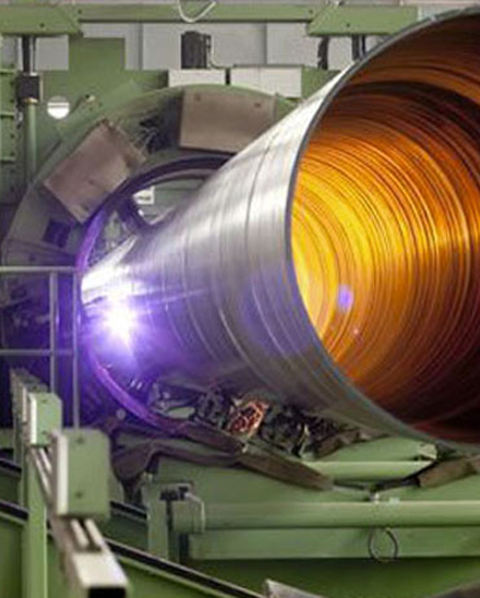 Welded Pipes Tubes Manufacturing